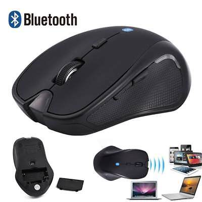 Bluetooth 3.0 Wireless Mouse 1600DPI for Android Phone Tablet PC Laptop Black