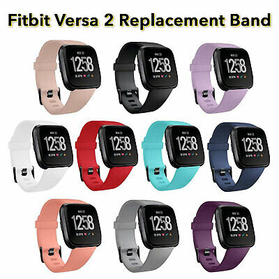 Fitbit Versa Watch Repacement Silicone Sports Fitness Band Strap Wristband Lite