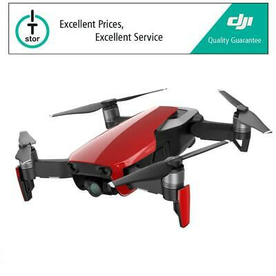 DJI MAVIC AIR - 4K 1080p Slow-Motion Camera Quadcopter Drone in Flame Red - UK