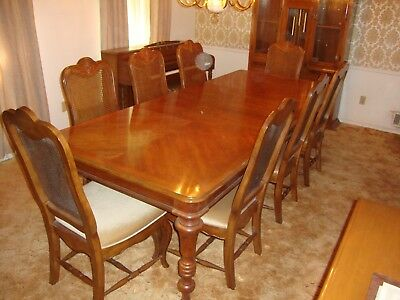 Dining Table Formal Set with 8 Chairs- LOCAL PICK-UP ONLY