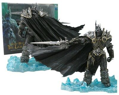 """World of Warcraft The Lich King Arthas Menethil Figure 8.3"""" Toy Statue New"""
