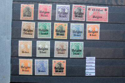 Lot Stamps Germany Occupation Belgium Mnh** (F110371)