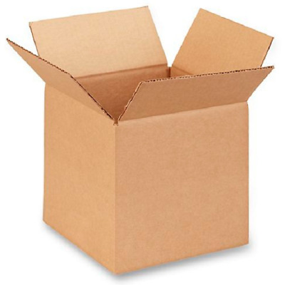 100 8x8x8 Cardboard Paper Boxes Mailing Packing Shipping Box Corrugated Carton