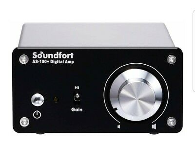 Soundfort AS 100+ headphone DVD digital amplifier with subwoofer control