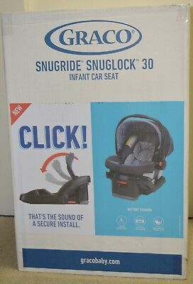 Graco Snugride Snuglock 30 Rear Facing Infant Car Seat 4-30 lb