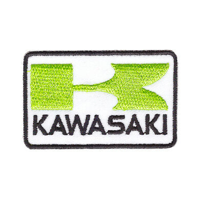 patch, kawasaki, broder et thermocollant 6.5/4cm