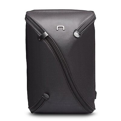 NIID UNO I Water Repellent Slim Laptop Backpack Grey with USB Charging Port Fits
