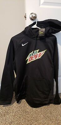 Nike Dri-Fit Therma Mountain Dew Hoodie Sweatshirt Adult XL NWT