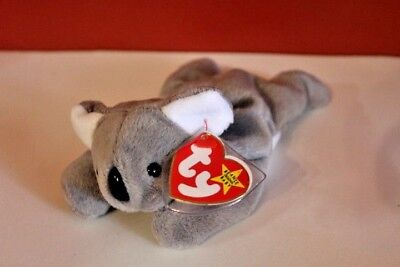 Ty Beanie Babies MEL The Koala Bear 1996 Beanie Baby Collection Retired NWTs