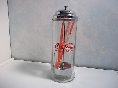 Coca Cola 1992 Straw Dispenser  #270