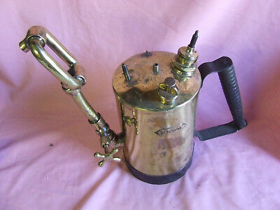 Vintage Monitor Blow Torch  Large Early 20th century