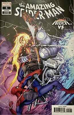 AMAZING SPIDERMAN 5 vol 5 2018 BRADSHAW COSMIC GHOST RIDER VARIANT PRE-SALE 9/12