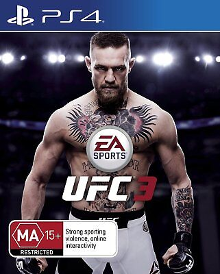 EA Sports UFC 3 (PS4) Playstation 4 Game Brand New In Stock CHEAPEST