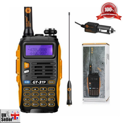 Two-Way Radio Transceiver Baofeng GT-3TP Mark-III Tri-Power 8/4/1W Dual Band UK