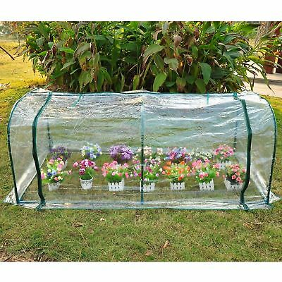 Outsunny 7' x 3' x 2.6' Mini Greenhouse Portable Gardening Flower House Plants