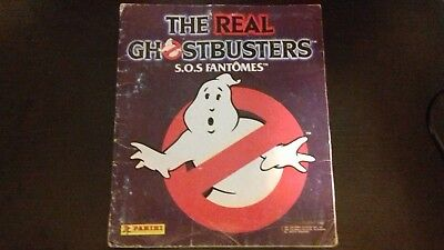 Album The real ghostbusters panini complet