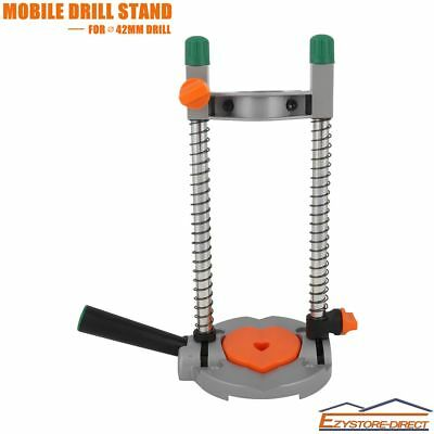 Adjustable Drill Guide 45° Electric Drill Stand 43mm Mobile Swivel