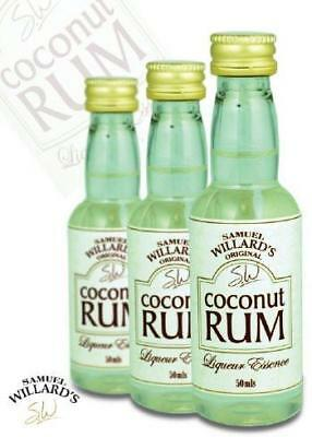NEW Samuel Willards Coconut Rum
