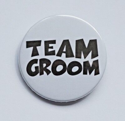 Stag Do Night Party Wedding Team Best Man 38mm Badges 1.5/' multi Grooms Crew