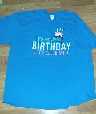 Table Mountain Indian Casino Happy Birthday T Shirt Size 2Xl