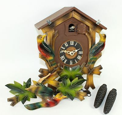 VINTAGE CUCKOO CLOCK for PARTS or REPAIR - RI21