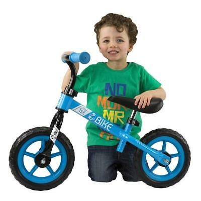 """Kids FIRST Bike Small 1St Bicycle Blue Boys Puncture Proof 10 """" Tyre Lightweight"""