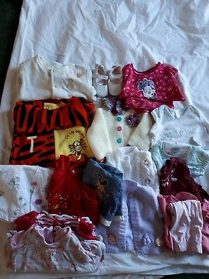 Baby girl clothes 3-6 months bundle 18 items