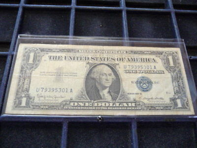 SERIES 1957 B One Dollar Silver Certificate==Good/crisp Condition ...