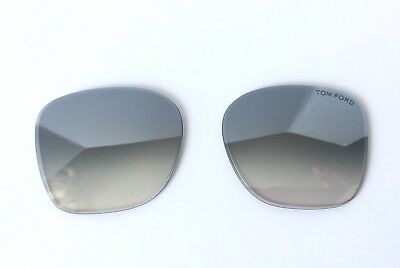 Tom Ford TF0554/S Dakota 2 Grey Gradient Silver Mirror Authentic Lenses Only New