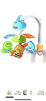 Tiny Love Take-Along Baby Mobile with Music Travel Battery Operated