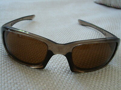 febe73ad6e74b LUNETTES SOLAIRES OAKLEY sunglasses FIVE brown smoke 03-432 54 o 19 ...
