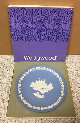 Wedgwood Tower Of London Christmass 1973 Plate