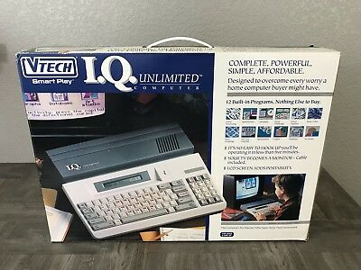 1991 Vintage Educational Vtech AdvanceTech IQ Unlimited Computer Used Tested