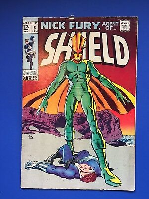 Nick Fury Agent of SHIELD #8 (Marvel 1969)