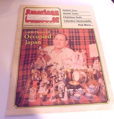 Vintage 1977 American Collector Magazine Occupied Japan, Typewriter, MORE