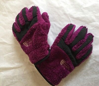 Youth Small New Girl's Denali Thermal Etip Northface Gloves Roxbury Pink Touch