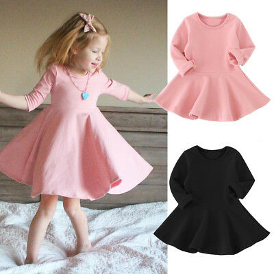 2b102a8b8c8f USA Kids Toddler Baby Girls Party Prom Princess Dress Sundress Clothes 1-5  Years