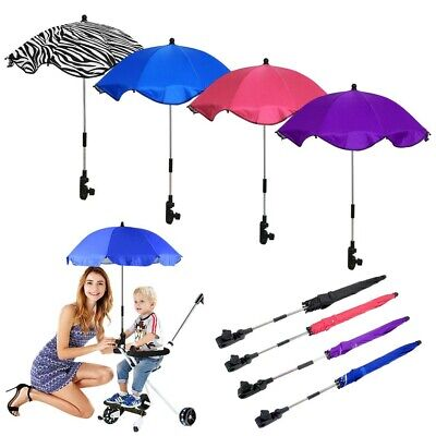 Sun Umbrella Parasol Kids Baby Buggy Pushchair Pram Stroller Shade Canopy Covers