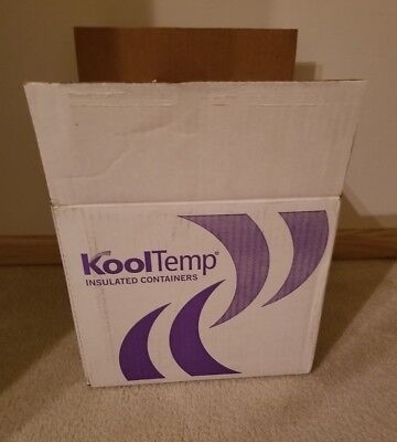 "CoolTemp Insulated Shipping Boxes, L-12"" X H-10.75"" X W-10"""