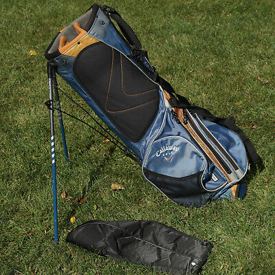 Callaway Golf Lightweight Stand Bag Double Strap 6 Way With Rain Cover