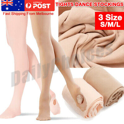 Convertible Tights Dance Stockings Ballet Pantyhose Size Children Adult 2 Colors