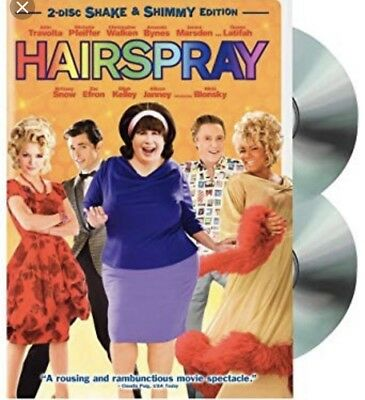 Hairspray (Two-Disc Shake & Shimmy Edition) John Travolta, Michelle Pfeiffer A7