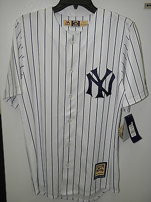 Majestic New York Yankees Home Cool Base Men's Jersey Shirt Sz Small