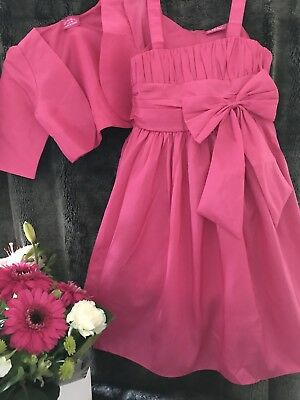 Girls size 4 Party Dress New & Short Belero Ever so cute for that special occasi