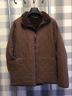 Barbour mens quilted fleace jacket