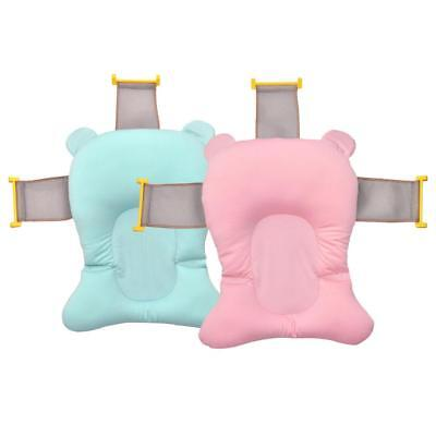 Foldable Baby Bath Mat Pillow Bathtub Pad Cushion Seat for Infant Safety Support