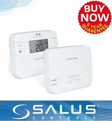 Salus RT510RF 5/2-Day Wireless Programmable Thermostat Central Heating Control