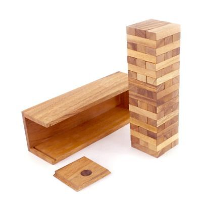 Jenga 30cm Wooden Classic Game Australian Tumbling Tower with Wood box