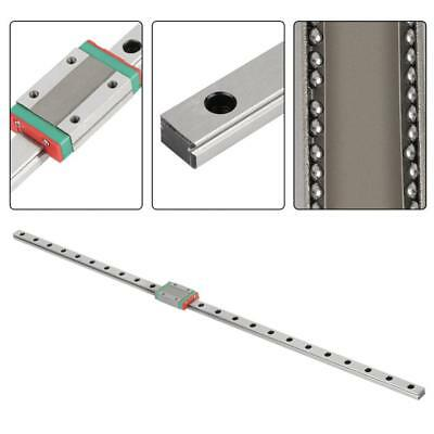 MGN12H 600mm Linear Guide Rail Slide Carriage 12mm Width with Sliding Block New