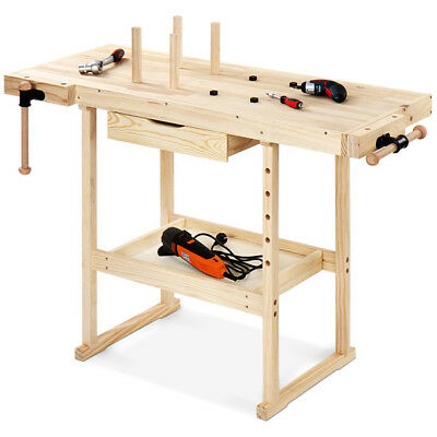 Wooden Work Bench Table Workmate Multi-Purpose DIY Carpentry